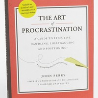 'The Art of Procrastination' Book | Nordstrom