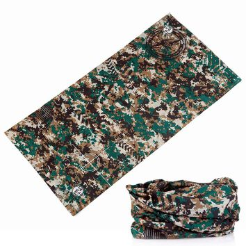 361-380 Camo Paisley Bandana Army Headband Camouflage Bandana Bicycle Bandana Scarf Face Mask Headscarf Headwear Neck Tube