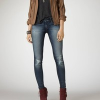 AEO Women's Jegging Ankle (Worn Dark)