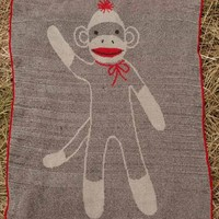 Sock Monkey Jr. Throw - Whimsical & Unique Gift Ideas for the Coolest Gift Givers