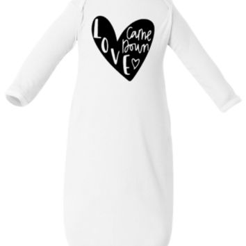 Love Came Down Coming Home Outfit Newborn Baby Shower Gift