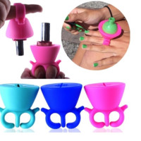 Nail Polish Silicone Rack [6273390340]