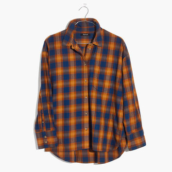 Westward Shirt in Ardan Plaid : shopmadewell button-up & popover shirts | Madewell