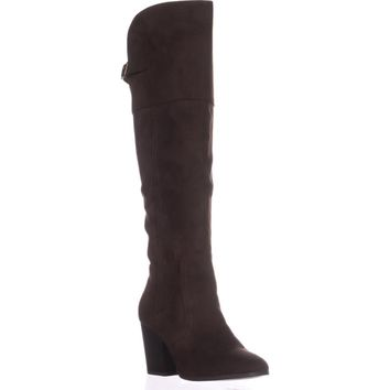 Easy Street Maxwell Knee-High Boots, Brown, 9 W US