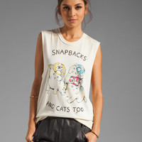 UNIF Snapbacks & Cats Too Tee