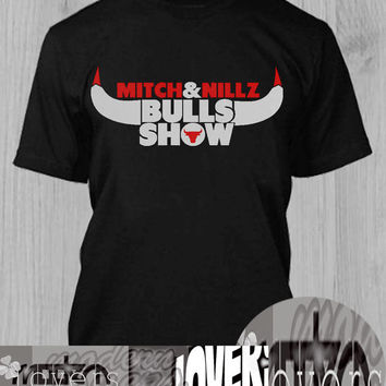 Bulls Show TShirt Tee Shirts Black and White For Men and Women Unisex Size