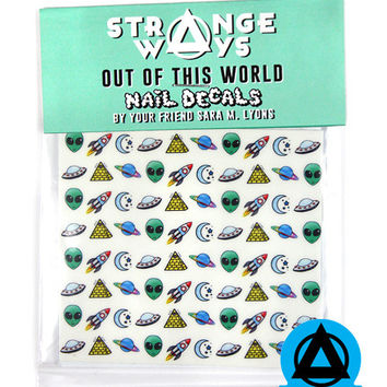 Out Of This World Nail Decals