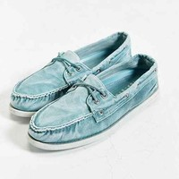 Sperry Authentic Original 2-Eye Washed Canvas Boat Shoe-