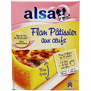 Alsa Flan Patissier Mix 25.3 oz. (720g)