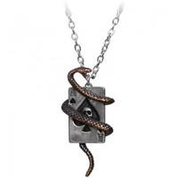 UL13 jewelry Snake of Aces necklace by Alchemy Gothic