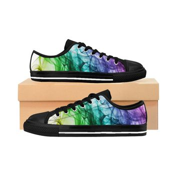 Women's Rainbow Wave Sneakers