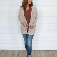 New Level Cardigan - Sand