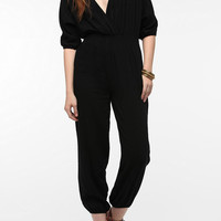 Angie Soft Woven Surplice Jumper