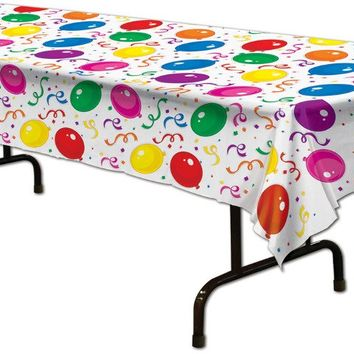 balloons & confetti tablecover Case of 12