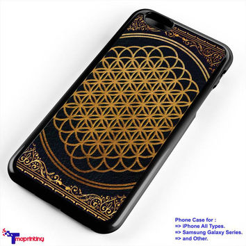 Bring Me The Horizon cover album gold - Personalized iPhone 7 Case, iPhone 6/6S Plus, 5 5S SE, 7S Plus, Samsung Galaxy S5 S6 S7 S8 Case, and Other