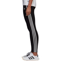 adidas Originals Adicolor 3 Stripe Leggings - Women's - Women's - Casual Leggings - Casual - Clothing - adidas Originals - Black/White | Lady Foot Locker