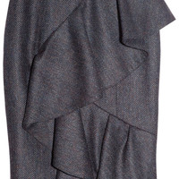 Burberry Prorsum | Ruffled tweed skirt | NET-A-PORTER.COM
