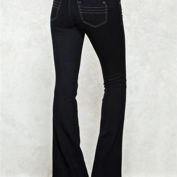 Blue Spice Flare High Rise Jeans