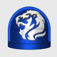 Roaring Lions - Gen7:Standard Shoulder x10 by matt_sweitzer on Shapeways