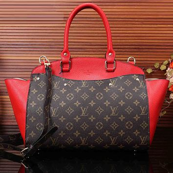 LV Women Shopping Bag Leather Satchel Shoulder Bag Tote Handbag Crossbody