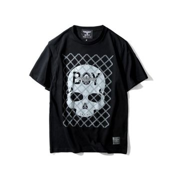 spbest Boy London  Skeleton Tee T-Shirt