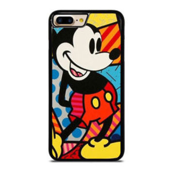 Best MICKEY MOUSE ROMERO BRITTO iPhone 7 and 7+ Hard Plastic Case Cover