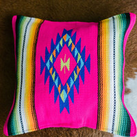Serape Woven Pillow Covers