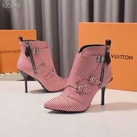 Louis Vuitton LV Women Fashion Pink Classic high heel shoes