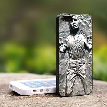 Han Solo Carbonite - For iPhone 5 Black Case Cover