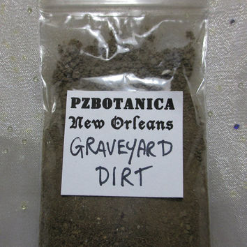 Graveyard Dirt From New Orleans // Voodoo & Hoodoo