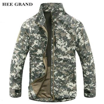 Fleece Jacket Warm Padded Waterproof