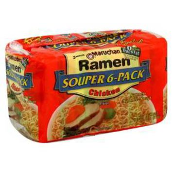 Maruchan Ramen Chicken Noodle Soup 6 ct