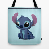 Chibi Stitch Tote Bag by Katie Simpson | Society6