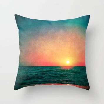 Fade Away Throw Pillow by Faded  Photos