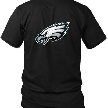 Demarco Murray Logo 2 Sided Black Mens T Shirt