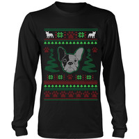 FRENCH BULLDOG UGLY CHRISTMAS SWEATER