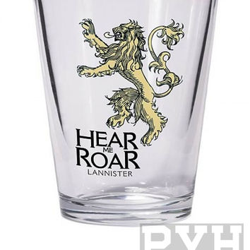 Game of Thrones Lannister Sigil Shot Glass