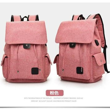 University College Backpack 2018 New USB Charge Fashion  Women Travel Security Waterproof School Bags  Teenage 15inch Laptop Men AT_63_4