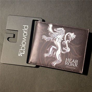 House Lannister Game Of Thrones Wallet