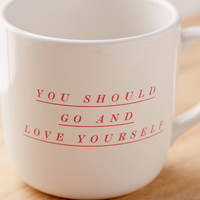 Love Yourself Mug | Urban Outfitters