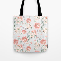 sweet peach Tote Bag by sylviacookphotography