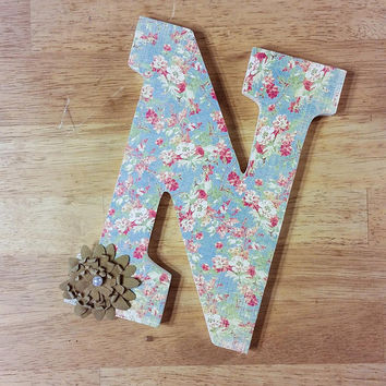 Custom Nursery Letters, Monogram Letters, Nursery Decor, Custom Wood Letters, Nursery Decoration, Baby Decor, Custom Letter, Nursery Letters
