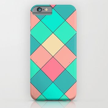 Candy Squares iPhone & iPod Case by Shannon Clark Photo & Art
