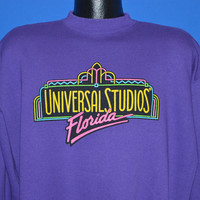 90s Universal Studios Puffy Paint Sweatshirt Extra Large