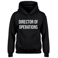 Youth Director of Operations Kids Hoodie