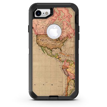 The Eastern World Overview Map - iPhone 7 or 8 OtterBox Case & Skin Kits