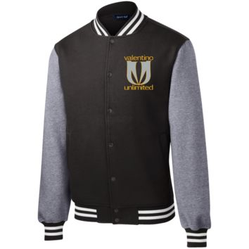 New VU LogoWear ST270 Sport-Tek Fleece Letterman Jacket