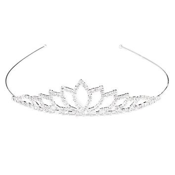 Wedding Women Girl Princess Crown Rhinestone Headband Head Jewelry Wedding Bridal Crystal Tiaras And Crowns Hair Accessories