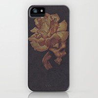 Skull Bloom iPhone Case by drawingsbylam