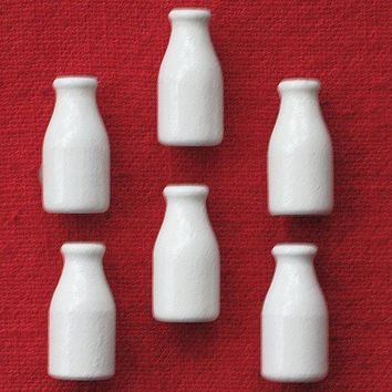 Milk Bottle Push Pins for Bulletin Board by PegsBoards on Etsy